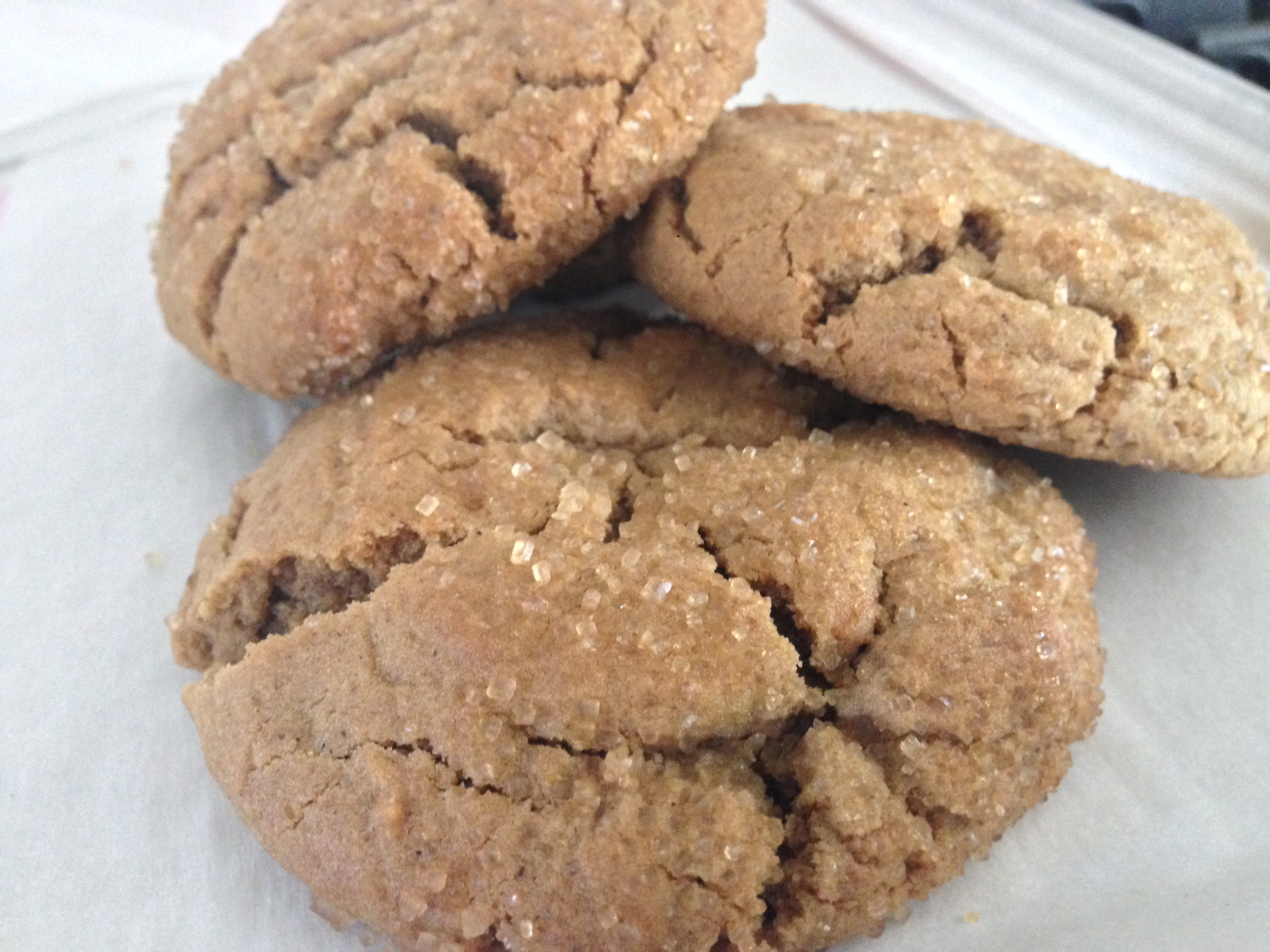 Giant Chewy Ginger-Spiced Cookies ((The Recipe of the Year))