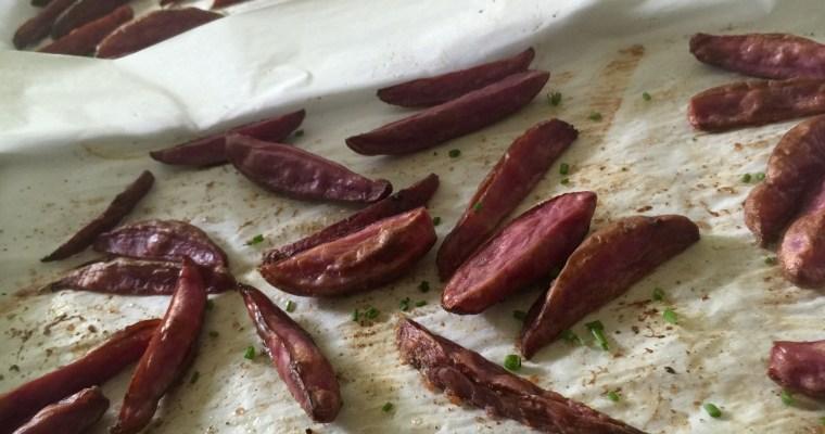Oven-Roasted Purple Steak Fries
