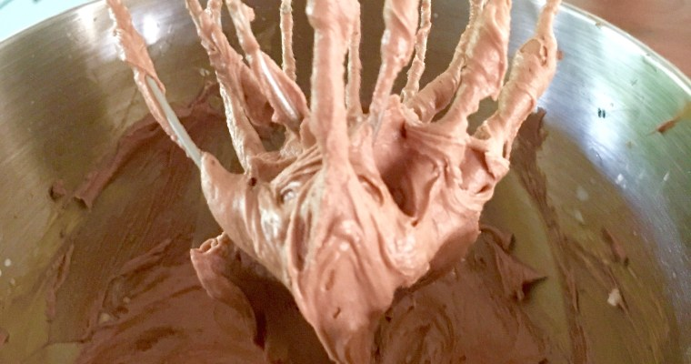 The Perfect Milk Chocolate Buttercream ((6 minute Buttercream))