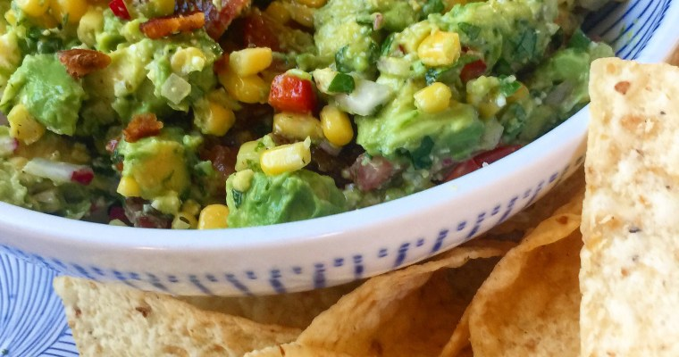 Loaded Guacamole – a Super Bowl recipe for Sinkology!