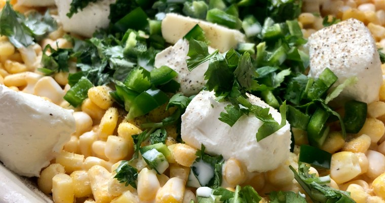 Spicy Mexican Creamed Corn