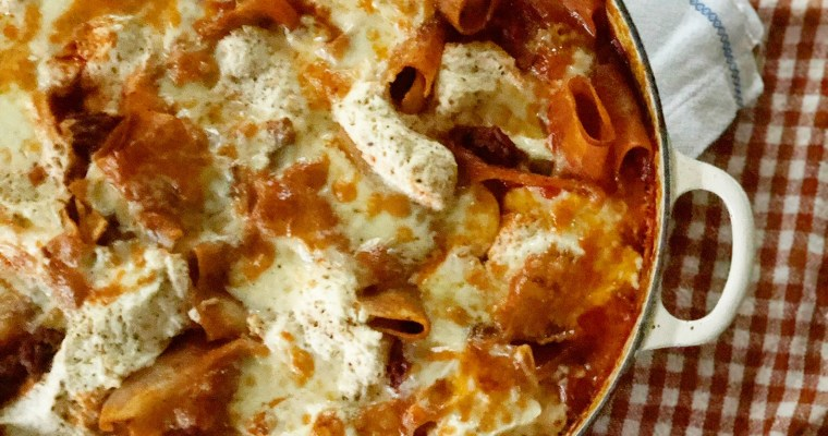 Easy One-Pan Skillet Lasagna