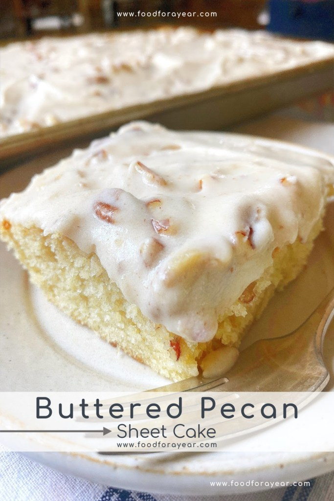 pinable image buttered pecan cake