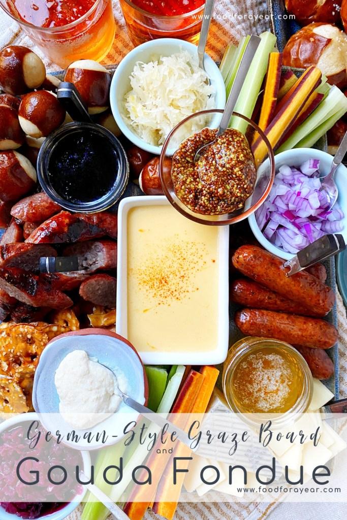 pinable graze board fondue image