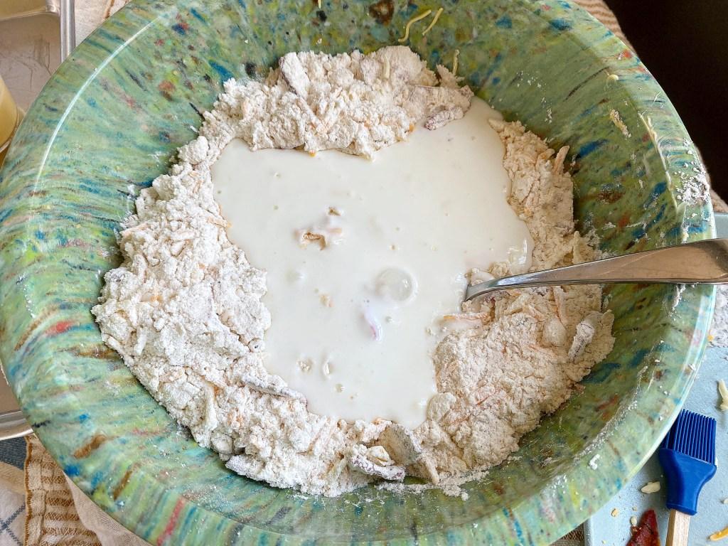 added buttermilk