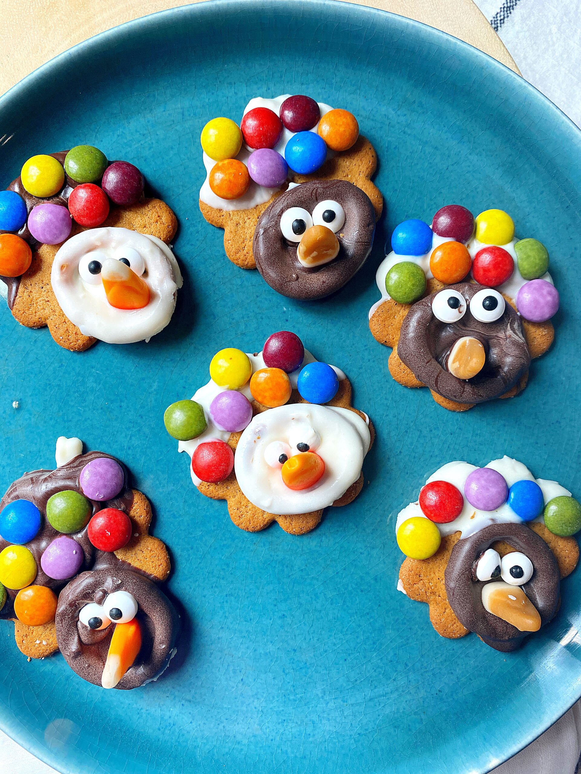 Quick Turkey Cookie Craft