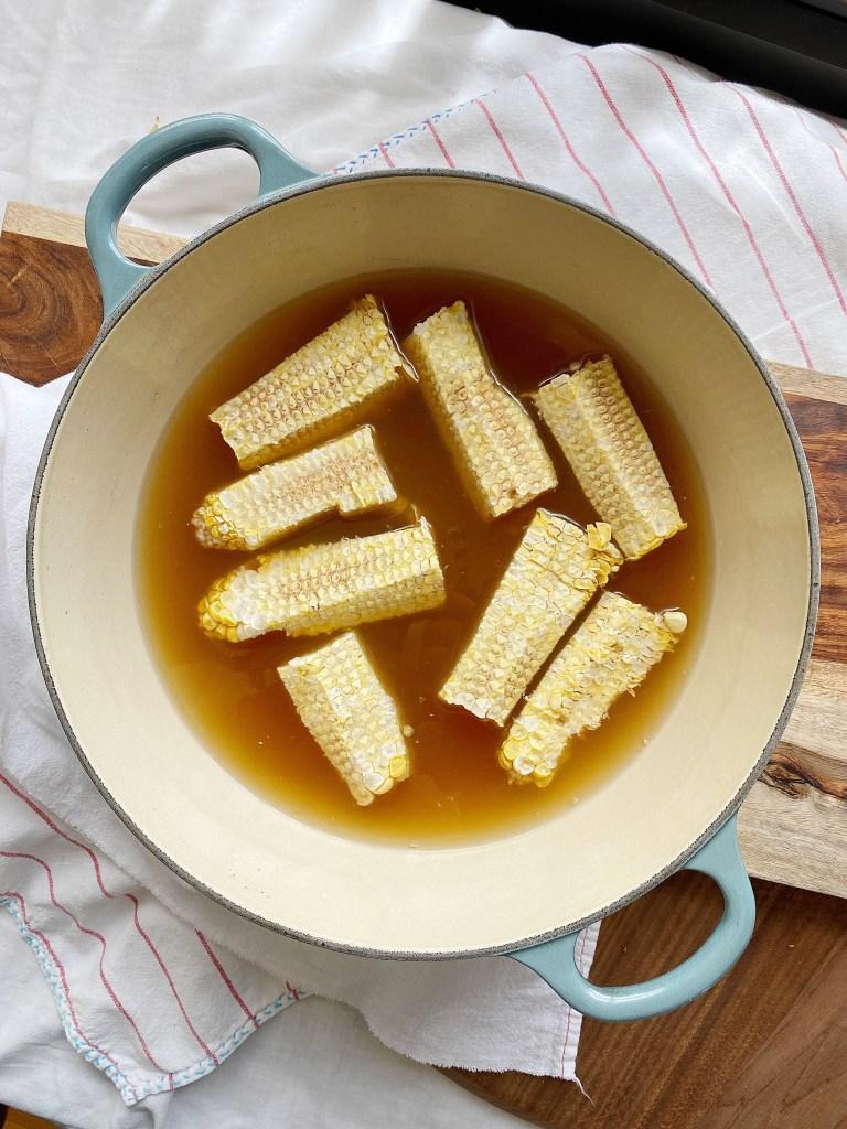 corn cob stock