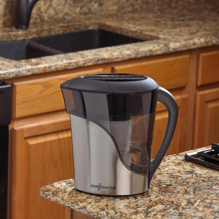 Stainless Steel 11 Cup / 2 5L Jug with Free TDS Meter - Food For  Consciousness