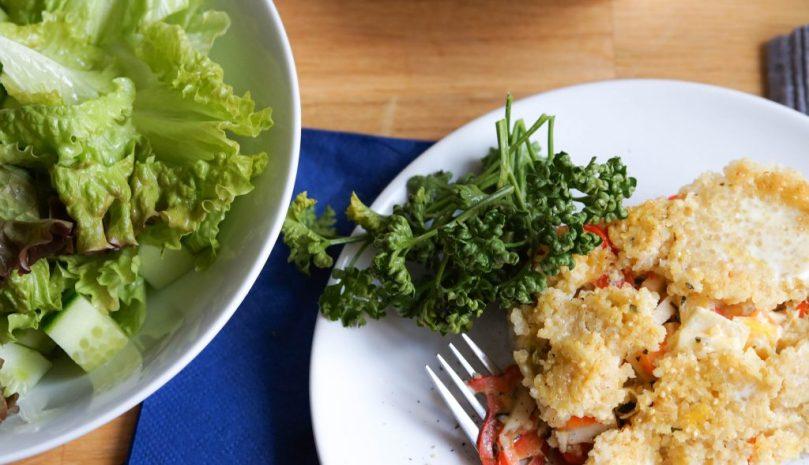 Hirse-Quinoa-Auflauf