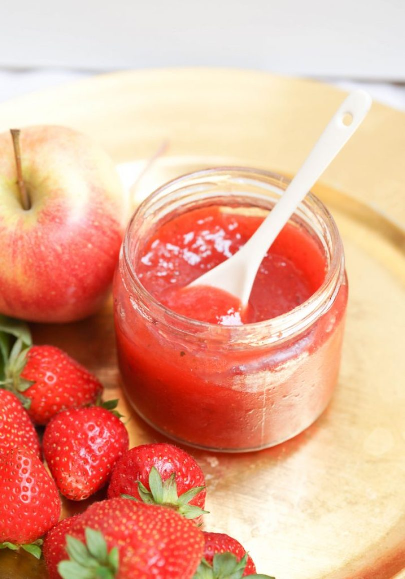 Erdbeer Apfel Marmelade