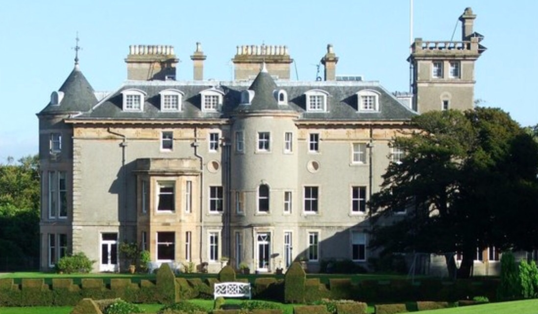 View from the back lawn of Finlaystone Estate, Home of the chief of the clan MacMillan. Photo by Kirsty Jarman