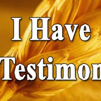 The Purpose of a Testimony