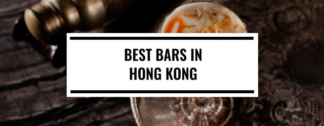 Best Bars in Hong Kong 2018 | Food For Thought