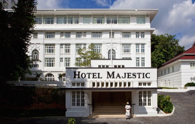 Majestic Facade | Majestic Hotel | Food For Thought