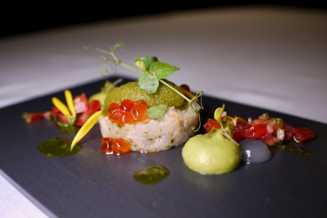 Red Moruno Prawn Tartare | Soleil | Food For Thought