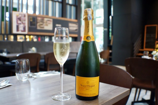 Veuve Cliquot Yellow Label Brut Champagne | Christmas 2016 | Skillet At 163 | Food For Thought