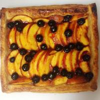 Food Pic Friday ~ Nectarine And Blueberry Galette