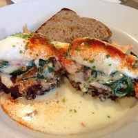 Lobster and Crawfish Benedict ~ EastBurn