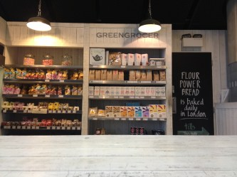 sourced market, St Pancras Station