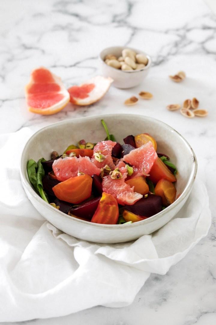 Beetroot & Grapefruit Salad