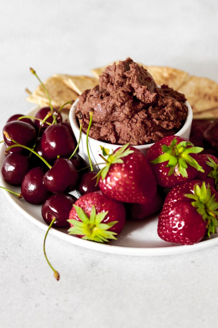 Chocolate Hummus (Gluten, Dairy, Sugar Free)