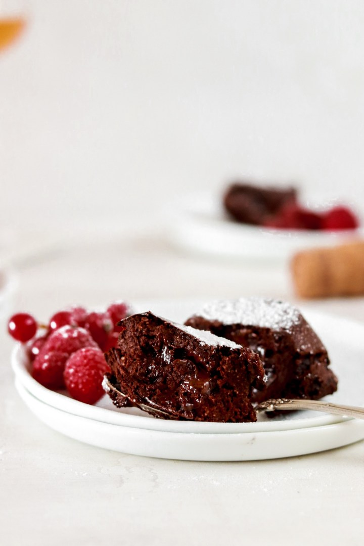 Chocolate Lava Cake (Vegan, Gluten & Sugar Free)