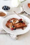 Sweet Potato French Toast Gluten Sugar Grain Free Close Up
