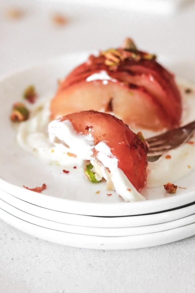 Hasselbacked Apples (Gluten, Grain & Sugar Free) From Inside