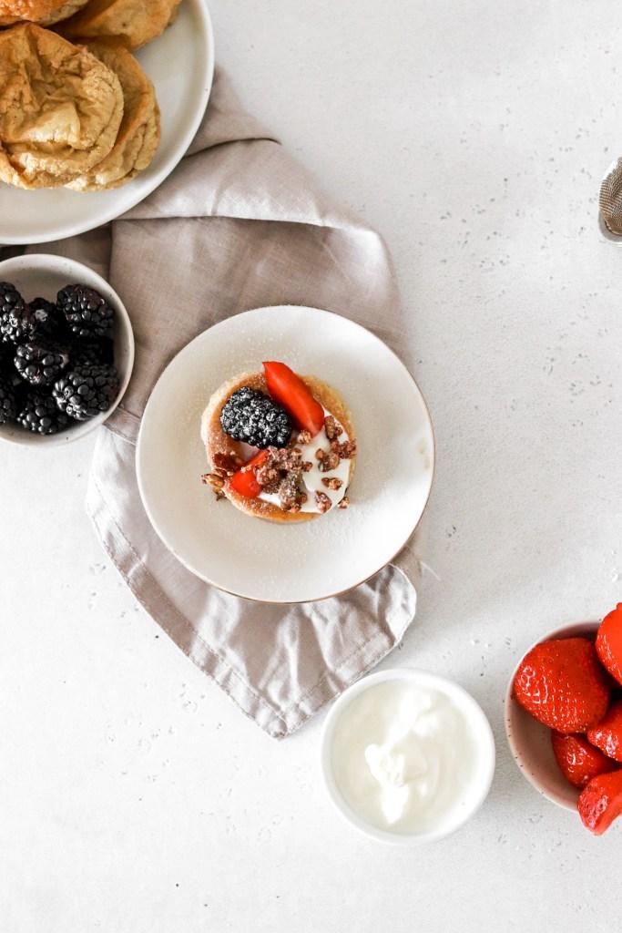 Pancake Popovers (Gluten, Sugar & Dairy Free) From Above