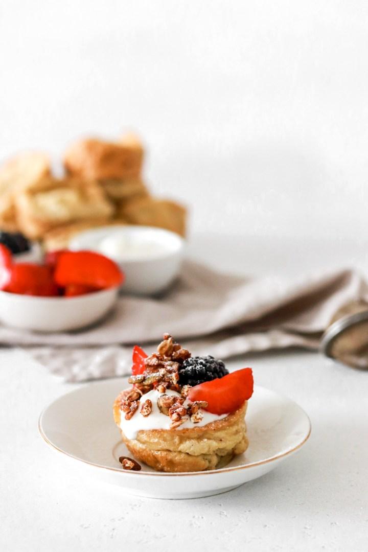 Pancake Popovers (Gluten, Sugar & Dairy Free)