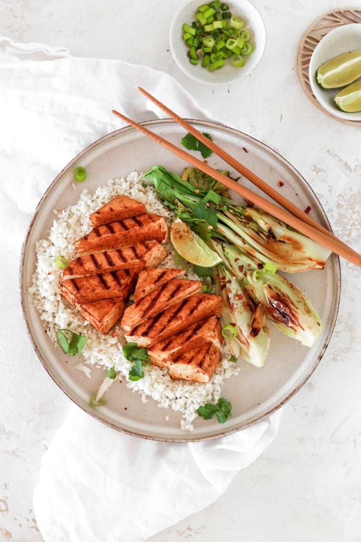 Asian Style Tofu Steak (Vegan & Gluten Free)