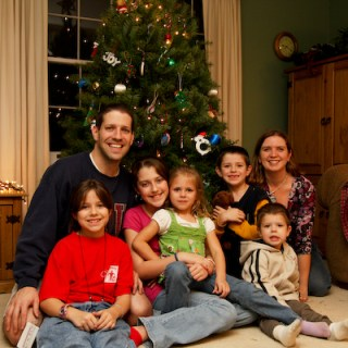 Family Christmas picture 5