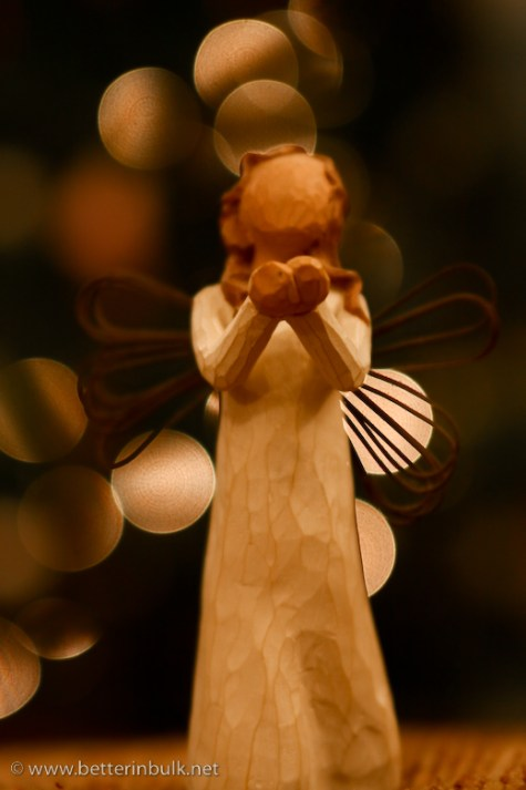 Angel Christmas Light Bokeh 2