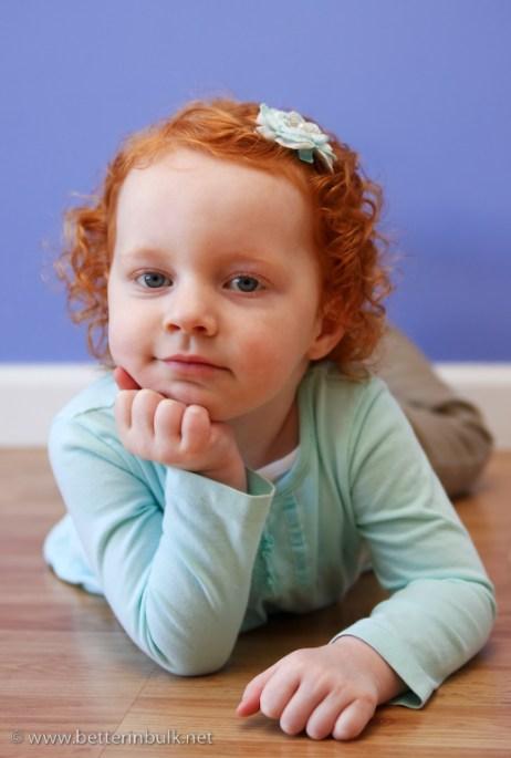 Little Red Head Thinker