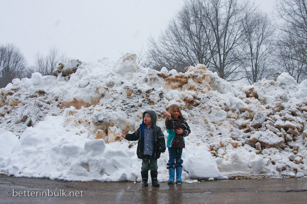 The BIG, HUGE snow mountain