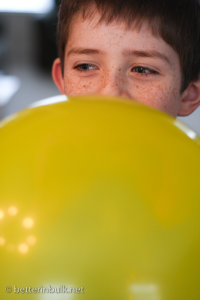 Yellow Balloon Boy