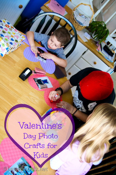 valentines day photo craft