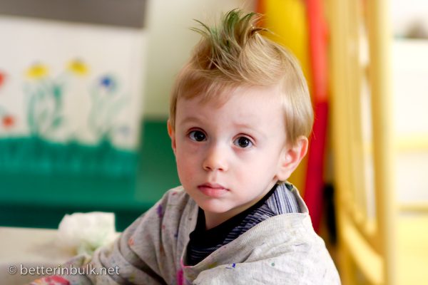 Punk Toddler – Give Me Your Best Shot
