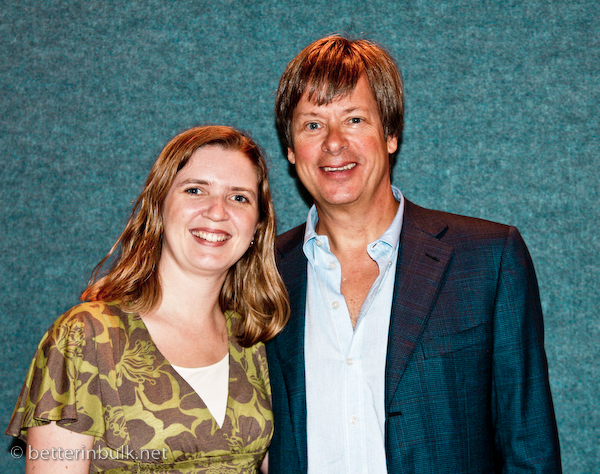 We give books - Lolli and Dave Barry