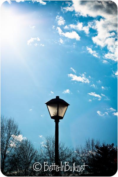 Valentine's Day blue sky