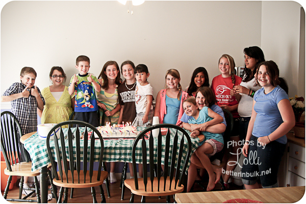 12 year old birthday party
