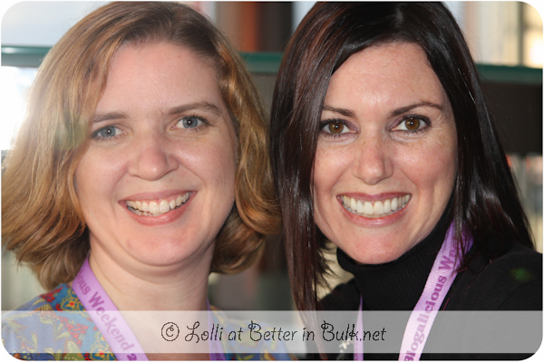 Jyl and Lolli at Blogalicious 2011