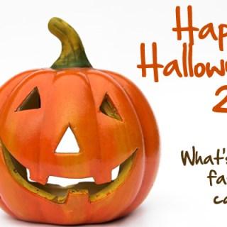 Ceramic Pumpkin Jack-o-lantern for Halloween
