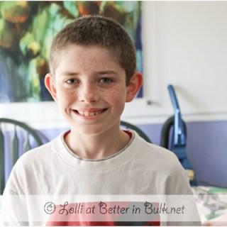 11 year old birthday boy