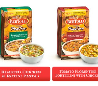 Bertolli Meal Soups – A Fancy Dinner at Home in 30 Minutes