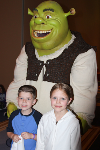 Shrek and Friends Family fun night at the Gaylord