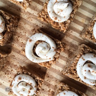 Cinnamon Roll Rice Krispie Treats Recipe