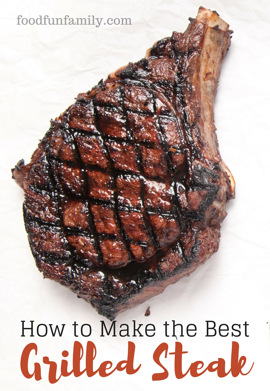 How to Make the Best Grilled Steak - our secret recipe for steak seasoning
