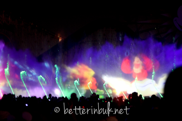 Disneyland California Adventure World of Color show