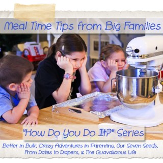 meal time tips big family